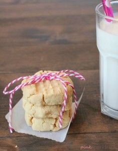 Gluten Free Coconut Flour Shortbread Cookies Recipe