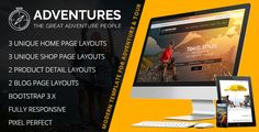 Download Nulled Adventures  Adventures and Tour HTML Template For Free