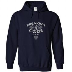 Breaking The PI Code 3.14.15 T Shirts, Hoodies. Get it here ==► https://www.sunfrog.com/Geek-Tech/Breaking-The-PI-Code--31416-NavyBlue-Hoodie.html?57074 $34