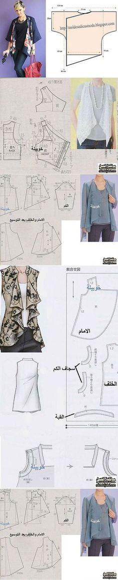 La costura: los patrones simples.
