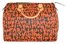 Louis Vuitton Satchel in Orange