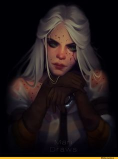 The Witcher is love, The Witcher is life. Ciri Witcher, Witcher Art, Dnd Characters, Fantasy Characters, Female Characters, The Witcher Books, The Witcher 3, Character Inspiration, Character Art