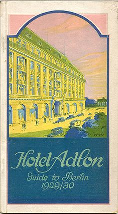 Hotel Adlon Berlin, husband stayed here - not me :(