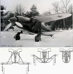 Nikitin-Shevchenko IS-2 polymorphic fighter biplane: the lower wing would fold up into the fuselage and upper wing becoming a monoplane : WeirdWings
