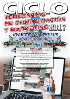 Ciclo: Tendencias en Comunicación y Marketing. Como acceder con mi marca a los nuevos medios digitales. #comunicacion #marketing #asimpea #marca #majadahonda