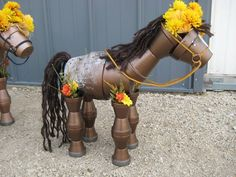 2015 CLAY POT HORSE Created by Stefanie Butler found on FB page under albums