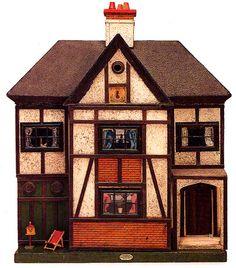 marinni: Старинные кукольные домики и куклы. Продолжение.