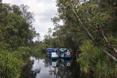 Remontando el rio Se