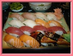 mmmmm sushi Want to learn more details on Wasabi Sushi Clubhouse, to see that the handful of our sheets are made?  , Sushi #rawsushi #food
