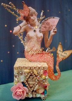 altered art mermaid