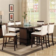 Woodbridge Home Designs Elmhurst Counter Height Dining Table. i love! chairs are out of stock :(