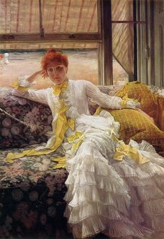 James Tissot Paintings Le Bal | James+Tissot+1836-1902+-+French+Plein+Air+painter+-+Tutt'Art@+(8).jpg