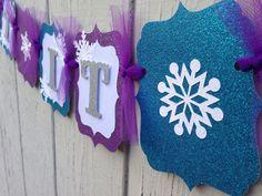 Congelados decoraciones banner LET IT GO por CelebrationBanner