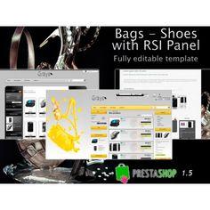 Updated #prestashop editable template: Bags shoes  http://catalogo-onlinersi.net/en/templates-prestashop-15/388-bags-shoes-rsi-panel.html