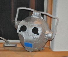 Cybermen pinata. Lots of fun ideas. Glow stick sci fi drinks are very fun.