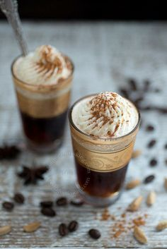 Serve these chic Spiced Winter Coffees at your intimate, festive gatherings.