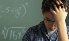 Miedo a las matemáticas activa el dolor de cabeza