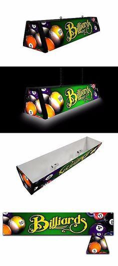 Table Lights And Lamps 75189: Green Billiards, Backlit Pool Table Light  Billiards Lamp,