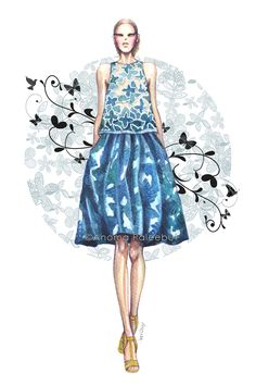 anomapaleebut: Fashion Illustration: Thakoon...