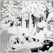 winter in moominvalley