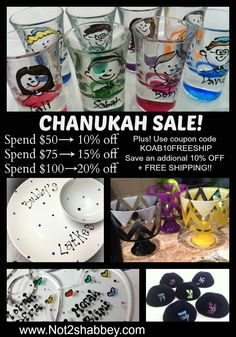 Not2Shabbey Chanukah Sale   Exclusive Coupon Codes for KOAB Readers
