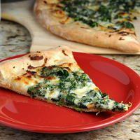 Cici's Copycat Spinach Alfredo Pizza