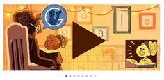 Logo doodle honors famous women through history including Ida B. Google Doodles, Komodo, Logo Google, Art Google, Google Images, Happy International Women's Day, Brand Promotion, Son Luna, Bedtime Stories
