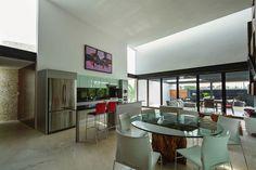 dining-kitchen area -  The PL2 House , Yukatan-Mexico by Seijo Peon Arquitectos y Asociados