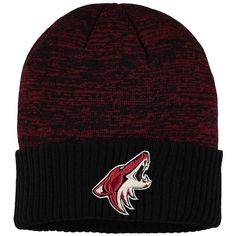 low priced 0d06c 25a64 Men s Arizona Coyotes Fanatics Branded Maroon Space Dye Cuffed Knit Hat,  Your Price   21.99. NHL Caps   Hats