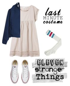 """Last minute costume: Eleven"" by meg-meg-meg ❤ liked on Polyvore featuring Paul & Joe Sister and Converse"