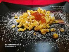Gluténmentes császármorzsa azaz smarni | Gluténmentes Íz-Lik recept Gluten Free Sweets, Paleo, Rice, Tej, Cukor, Vegetables, Food, Essen, Beach Wrap