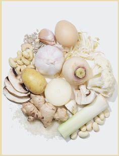 dieta dei colori - bianco http://pilloline.altervista.org/cromodieta/