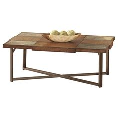 Winchester Cocktail Table in Elm