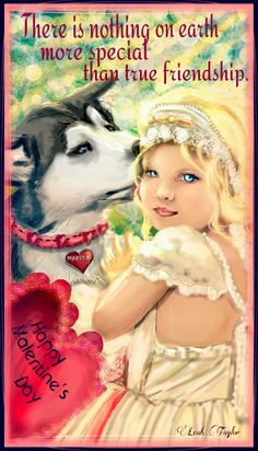 Original drawing by Leah Taylor-See the drawing tutorial video @ http://youtu.be/9UkrwqmL6u0 #picsart #DCdog #petsandanimals #love #happy #bestfriends #valentine