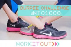 CHALLENGE: 1000 burpees in 30 days