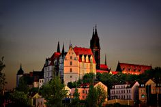 Meissen, Germany. Love,love, love Meissen!  The town is very picturesque, I can spend hours just wandering the streets in town and of course in the castle!  Must share with someone special!!