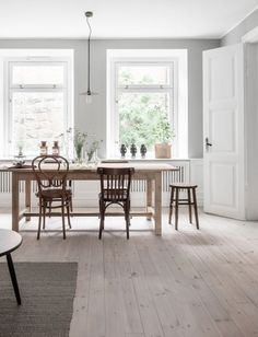 Industrial with warm wood in a Swedish apartment (my scandinavian home)