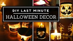 DIY LAST MINUTE HALLOWEEN DECOR IDEAS! Quick and easy room decor 2016 | The Crafted Runway