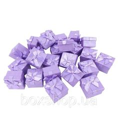 Бумажная коробочка BOXSHOP #box1-1 Фиолетовый