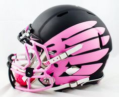 Black with pink wings