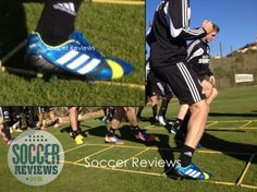 adidas Nitrocharge 1.0 Blue/Yellow Colorway