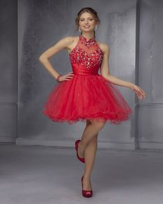 Sexy Red Halter Two 2 Piece Short Homecoming Dresses 2016 Beaded Sequin Formal Grade Prom Dresses Semi Formal Dresses Short Red Prom Dresses, Backless Homecoming Dresses, Hoco Dresses, Sweet 16 Dresses, Sexy Dresses, Formal Dresses, Party Dresses, Mini Dresses, Dresses 2016