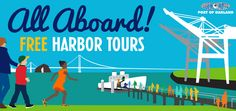 Eventbrite - Port of Oakland presents Port of Oakland Harbor Tour - September 25 at p. - Friday, September 2015 in Oakland, CA. London Square, Love Fest, Bay Area, Places To Go, Tours, Activities, September, Clay, Street
