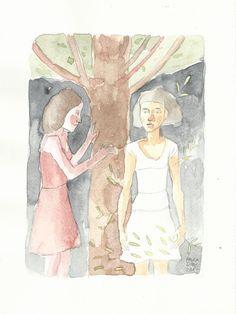 ( Watercolor Print  IV )    17x23 cm     20€