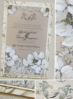 white hydrangea wedding invitations vintage white hydrangea