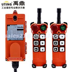 ==> [Free Shipping] Buy Best Industrial Radio Wireless Remote Control 6 Buttons channels one step F21-E1 for Hoist Crane 2 Transmitter and 1 Receiver Online with LOWEST Price | 32738772312