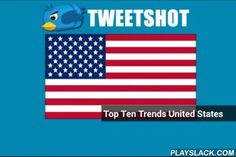 TweetShot  Android App - playslack.com , TweetShot is a news application that lets you see what's going on in your country or 74 other countries around the world in ten seconds.Tweetshot turns trend #hashtags into images and news links so you can know instantly what is trending and why! You'll know exactly what's happening in the world in seconds with the top ten trends with images and news links: lightning fast in real time.Stay in the know: Impress your friends in social gatherings or…