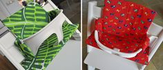 Toefje Roze: Koninklijke zetel! Kussentjes voor de tripp trapp