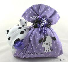 Stork bundle baby | Girl diaper cake | Baby diaper cake | Stork bundle | Diaper baby | Baby shower gift | Baby sprinkle gift | New mom gift by MsCarlasBabyCakes on Etsy