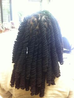 Loc twists - using pipe cleaners
